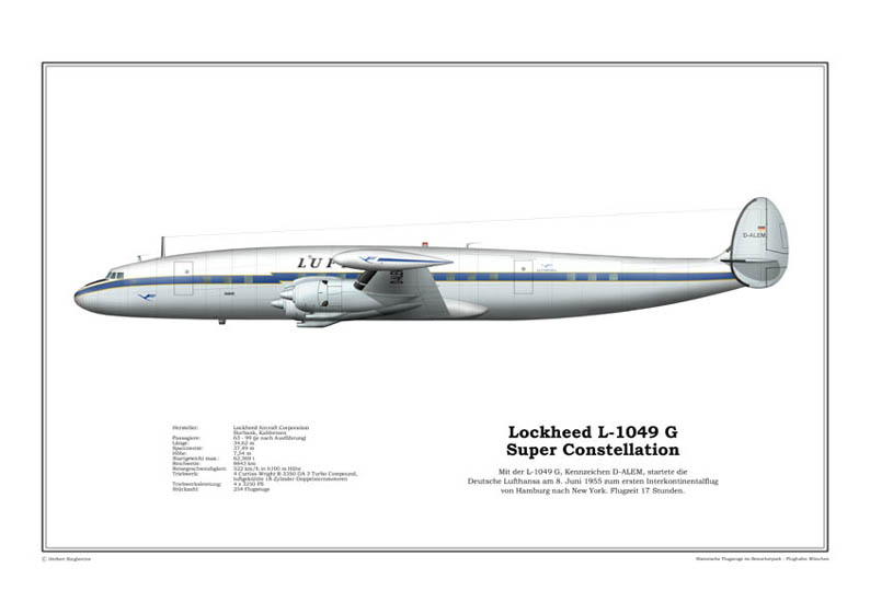 Lockheed L-1049 G Super Constellation
