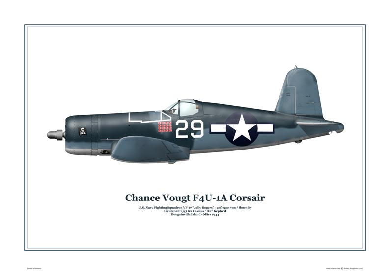 Chance Vought F4U-1A Corsair
