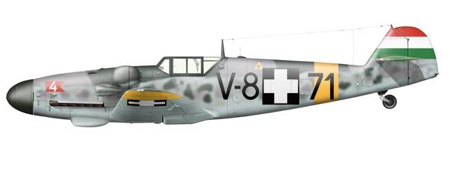 Messerschmitt Bf 109 G-6 - Hungarian Air Force - Aviaticus