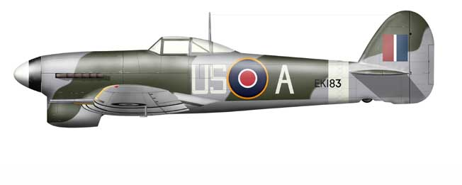Hawker Typhoon Mk.I - US-A